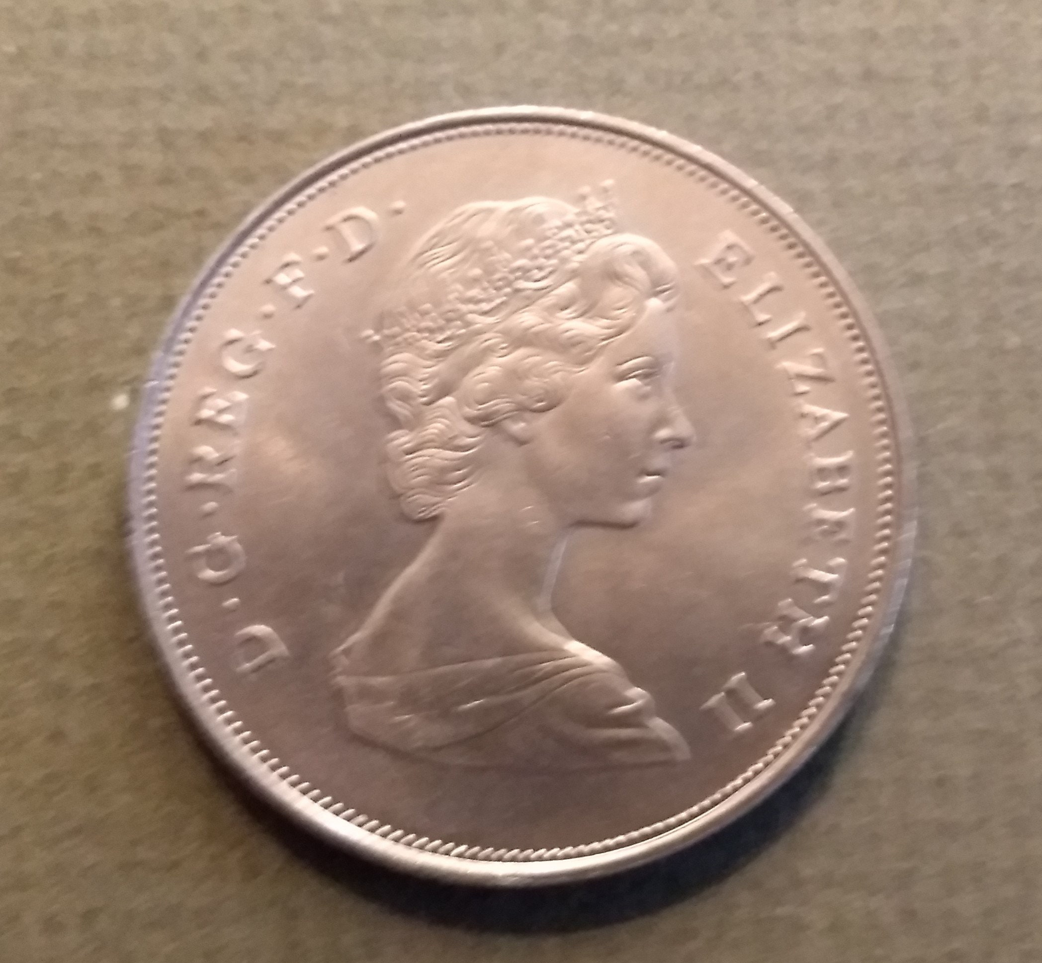 Coins Great Britain Prince Charles Lady Diana Spencer Wedding Crown 1981 Uncirculated 9031