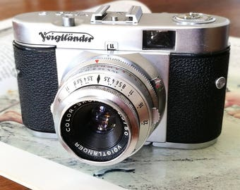 Voigtlander Vito B. Ready-To-Use Vintage 1950's Camera
