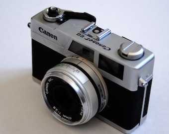 Canon Canonet 28 With New Light Seals. Ready-To-Use Vintage 1970s Rangefinder Camera