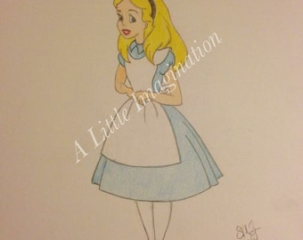 Walt Disney Alice in Wonderland