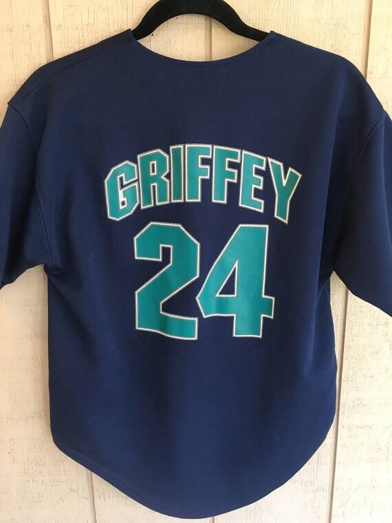"""Ken Griffey Jr Seattle Mariners /""""Hall of Fame/"""" Hooded SWEATSHIRT HOODIE"""