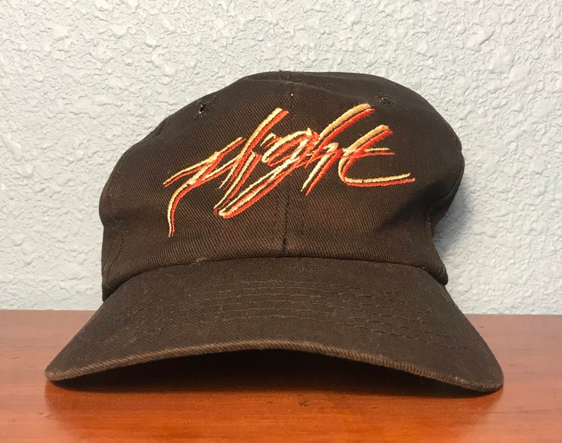 c169db499b23 Rare Vintage Nike Flight Zip Back Hat Adult One Size Fits