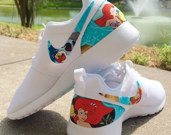 The Little Mermaid Custom Nike Roshe 44c0ad9b6607