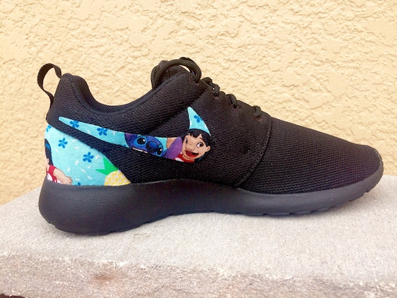san francisco 9a65e 8f509 ... run ultra e9d82 canada lilo and stitch custom nike roshe etsy 82229  da8ff ...