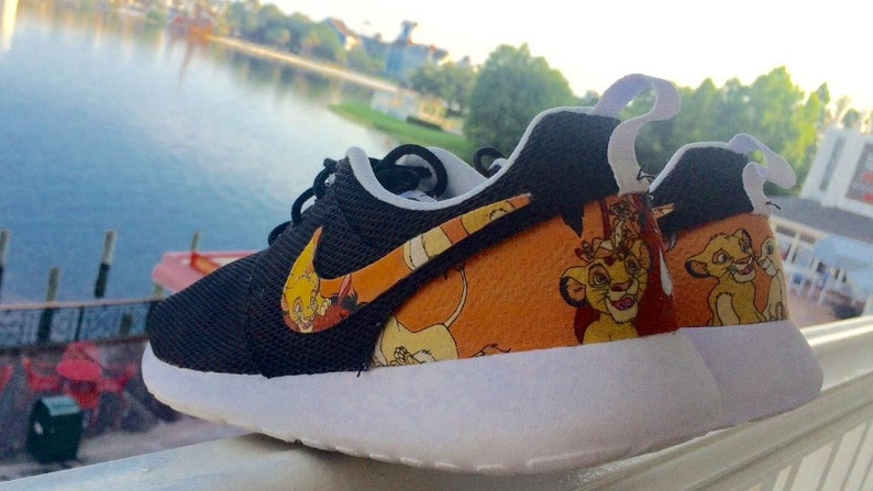 quality design 058d2 e19c9 Lion King Custom Nike Roshes   Etsy