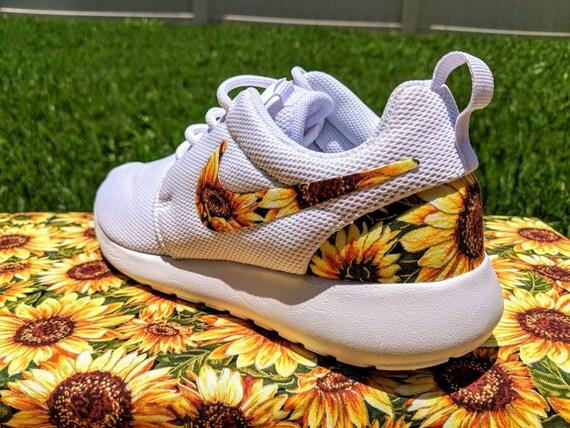 7f7baddcc Custom Sunflower Nike Roshe