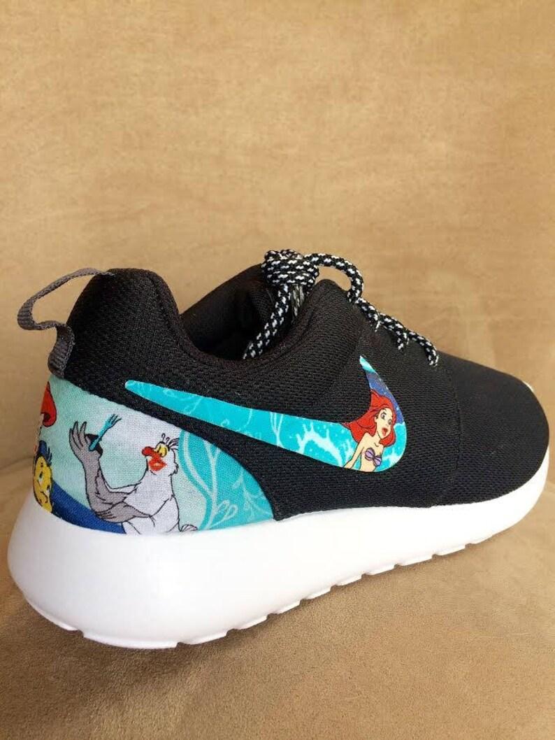 306c9da04424c The Little Mermaid Custom Nike Roshe