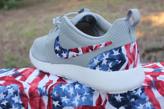 15a6b58e80c4 LIMITED American Flag Nike Custom Roshe