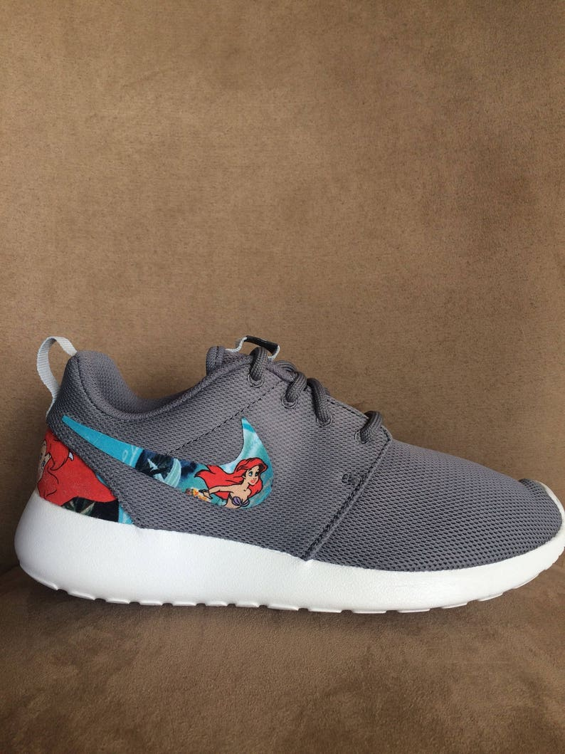 64357a7825d3 The Little Mermaid Custom Nike Roshe