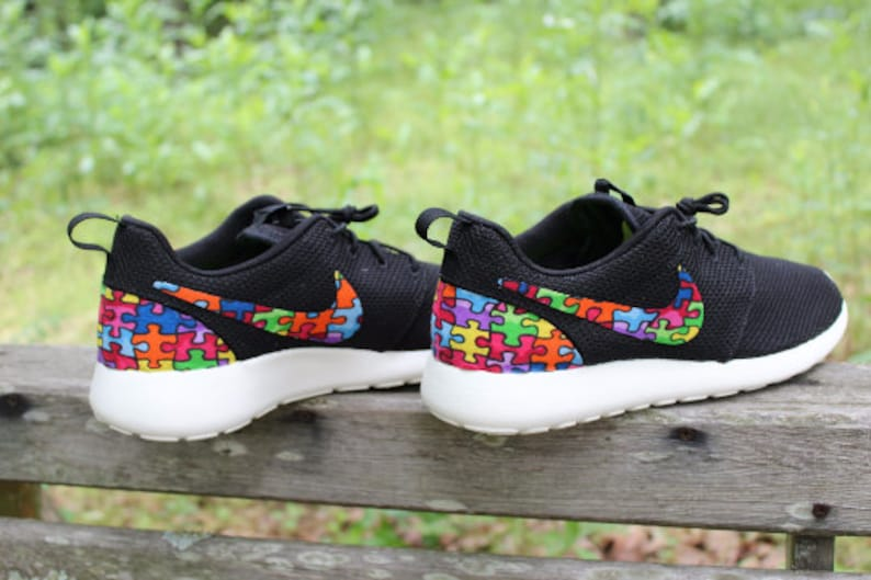 9653f8dfc1cd Autism Awareness custom Nike Roshe