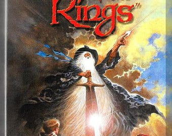 VHS - The Lord Of The Rings (1978) *J.R.R. Tolkien / Ralph Bakshi / Animated*