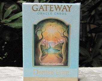 SALE: Gateway ORACLE Card DECK and Guidebook by Denise Linn Divination Tool Divine Guidance - Signs Messages Oracle Deck - Brand New!