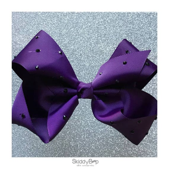 X Large Bow with Studs