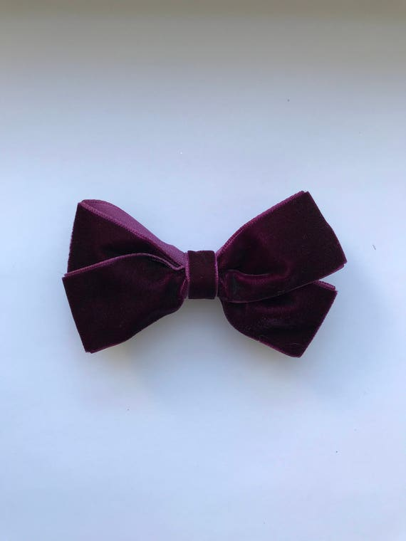 Luxe Velvet Large Bow