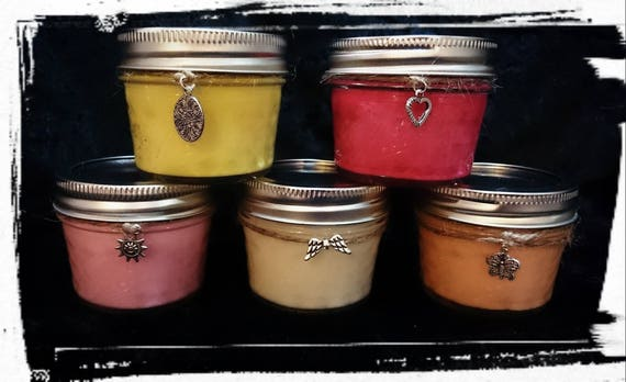100% Soy Wax  Australian Hand Made  Mason Jar Soy Candles 120mls {Mini} approx 19+ burn time