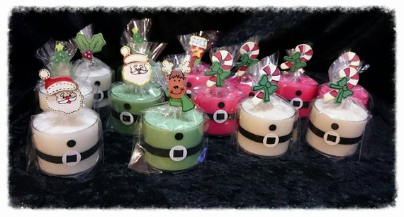 100% Australian Hand Made Soy Wax Santa Spa Candles