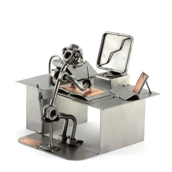 Steelman24 PC-Oficina Escultura DE Acero
