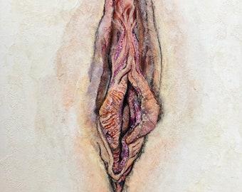 Sea Anemone - Original Painting