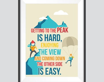 Your Legs Can Never Get Tired While Chasing Your Dreams - Motivational Poster Wall Art as a Digital Download in A3, A4, A5, and A6 Sizes