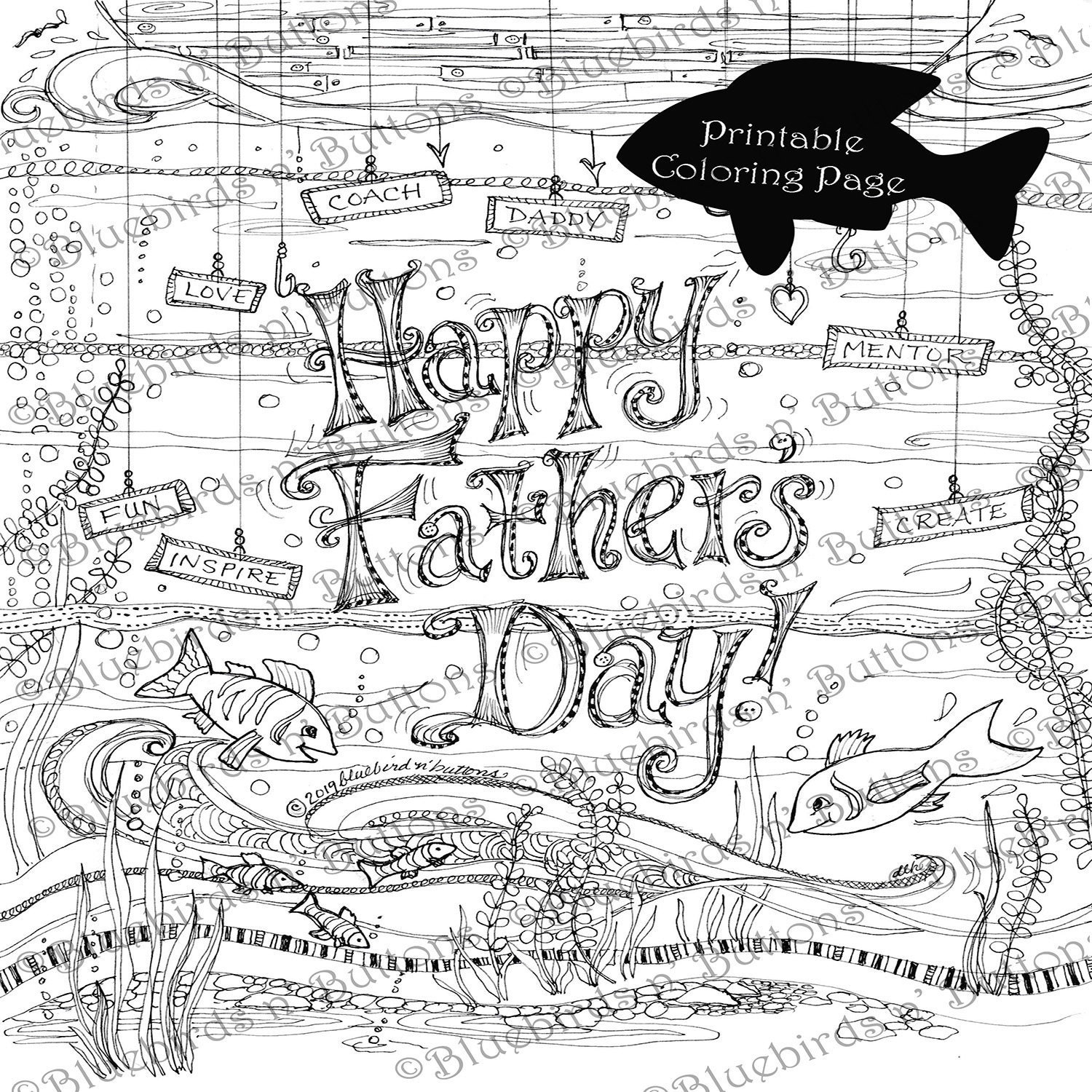 Coloring page printable coloring page june coloring fathers day page download adult coloring page kids coloring pages fun