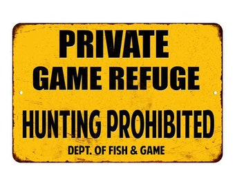 Vintage Look Reproduction Metal Sign Duxbak Hunting Clothes