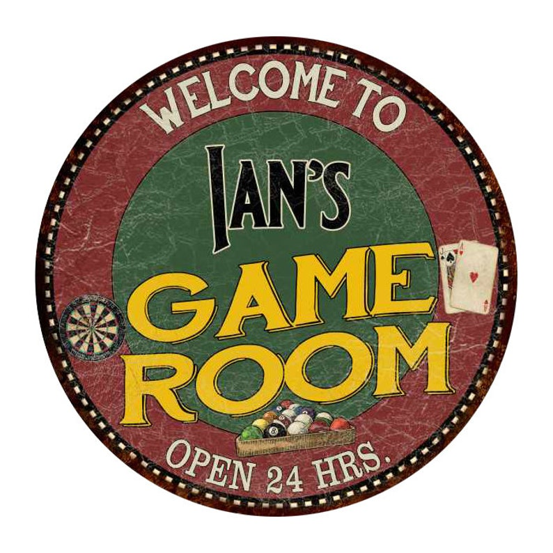 Personalized Game Room 14