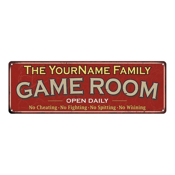 Your Name Personalized Music Room Blue Metal Sign Wall Décor 108120106001