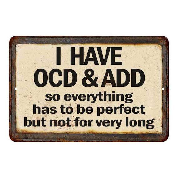 Sometime I sit...Crazy Funny Vintage Reproduction 8x12 Metal Sign 108120067058
