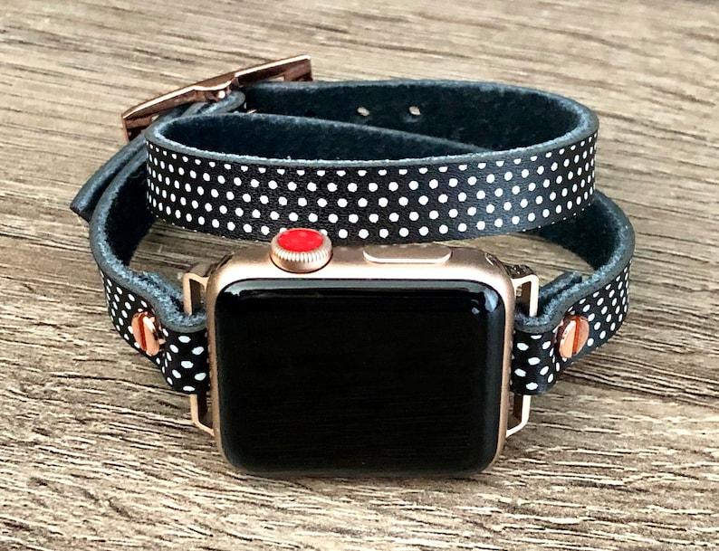 Apple Watch Band 38mm 40mm 42mm 44mm Polka Apple Watch image 0