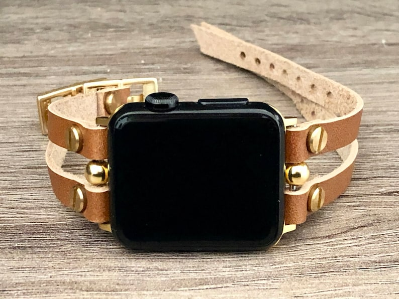 Gold Apple Watch Band 38mm 40mm 42mm 44mm Apple Watch Bronze image 0