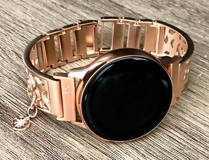 Samsung Galaxy Watch Band Rose Gold Bracelet Galaxy Watch image 0