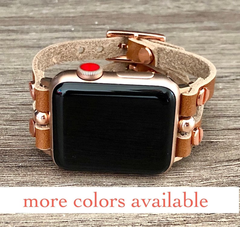 Rose Gold Apple Watch Band 38mm 40mm 42mm 44mm Apple Watch image 0