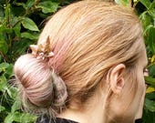 Ivy leaf hairpin, autumna...