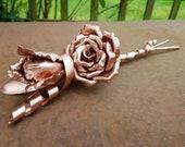 Custom Copper Calla lily ...