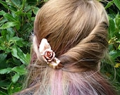 Rose hair stick, hair cho...