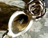 Bronze anniversary metal ...
