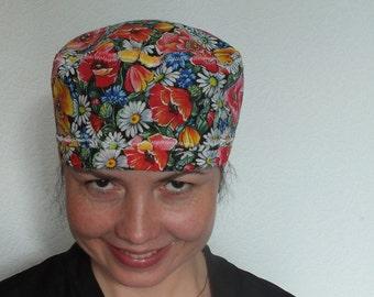 photograph relating to Free Printable Scrub Hat Patterns identify Scrub hat practice Etsy
