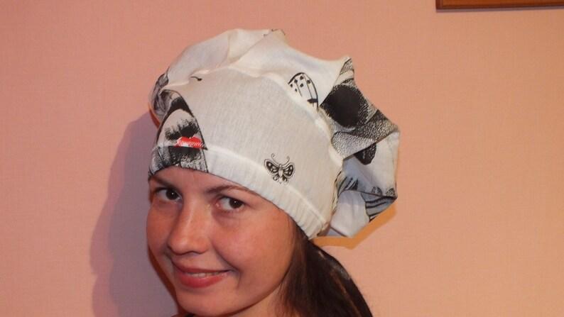 SEWING PATTERN Scrub hat Scrub cap  pattern surgical hat image 0
