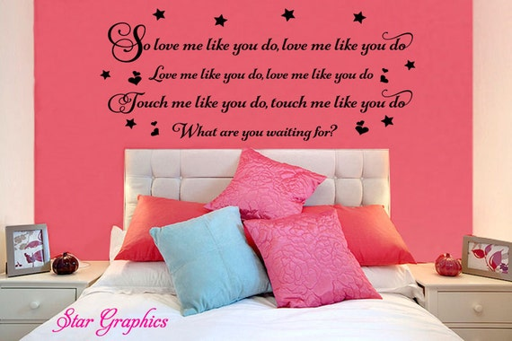 Ellie Goulding Love Me Like You Do Song Music Lyrics Quote Etsy