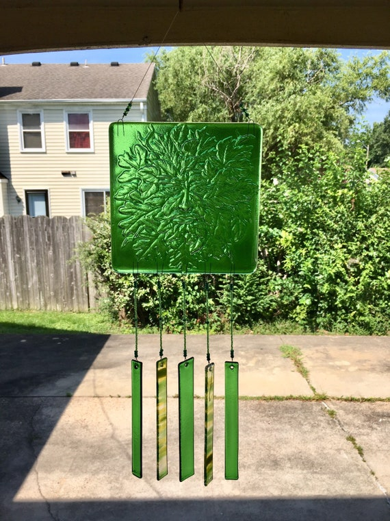 Green Man Windchime