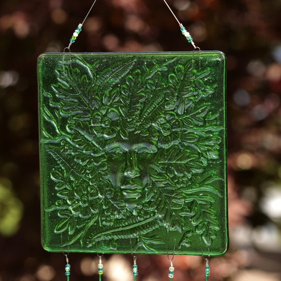 Lady of the Woods/Green Woman Windchime