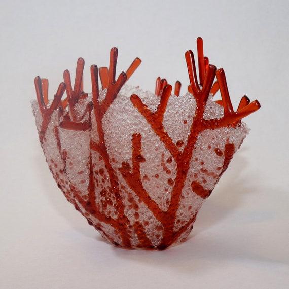 Sunset Coral Vase