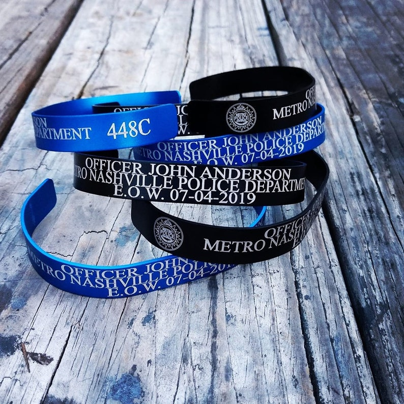 Officer John Anderson Memorial Bracelets Proceedes going to image 0