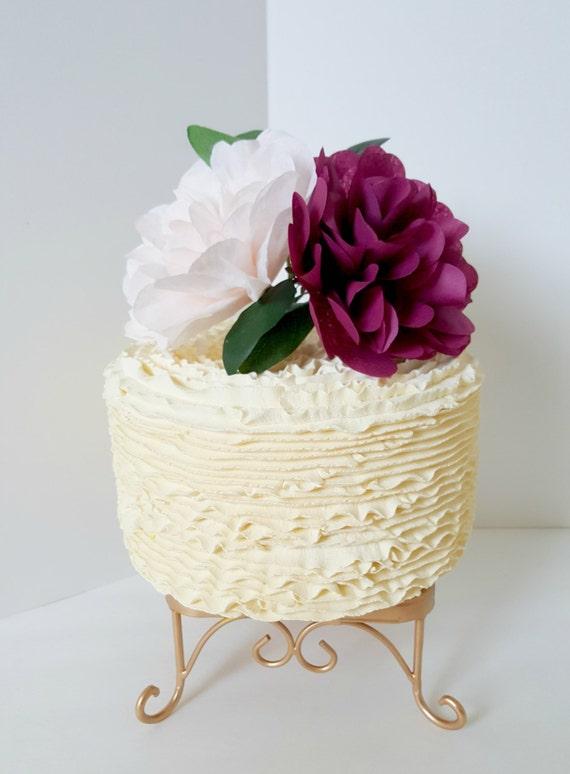 Floral Cake Topper Bridal Shower Smash