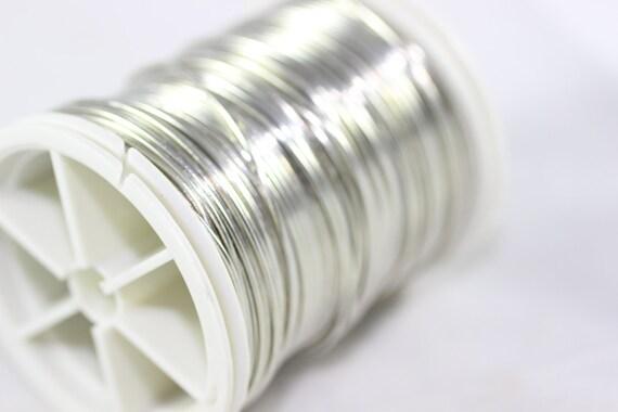 Silber grau Draht 18 20 22 26 28 Gauge Jewelry Wire Wire | Etsy
