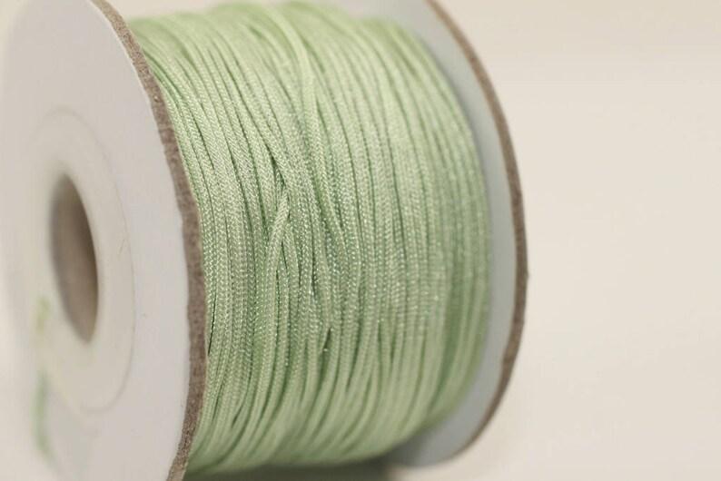 Bracelet Making Knotting Cord CR028 0 8mm Cord Shamballa Macrame Jewelry Supplies 50 m  55 yard 0.8 mm Nylon Knotting Cord