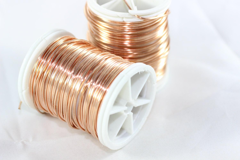 Artistic Copper Wire 20 Gauge (0.8 mm) 28 Feet 8.5 meters, Craft ...
