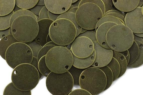 """20pcs 1 1//4/"""" tibetara Copper round washer Stamping Blank 18 Gauges  10156710"""