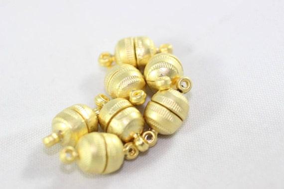 7.5 mm Ball Clasps magnetic closure magnet clasps MBCP clasps for bracelet Bronze Magnetic Clasps Bracelet Clasps bracelet making