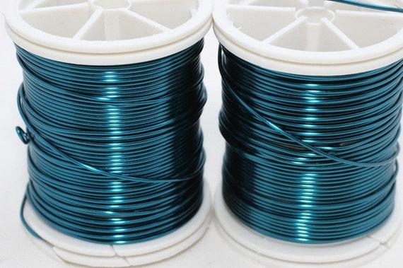 Blauer Draht 18 20 22 26 und 28 Gauge-Schmuckdraht | Etsy